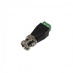 BNC Male connector to terminal 2.1mm DC jack Well BNC-M-TBS